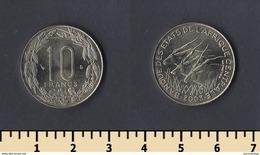 Central Africa (BEAC) 10 Francs 2003 - Monedas
