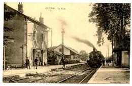 CUZORN - La Gare - Voir Scan - Andere Gemeenten