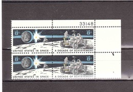 USA 1971 8c DECADE OF ACHIEVEMENT - USA