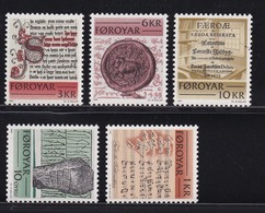 Faroer 1981, Complete Set MNH. Cv 5 Euro - Féroé (Iles)