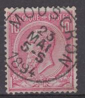 N° 46 Mouscron 1894 - 1884-1891 Leopoldo II