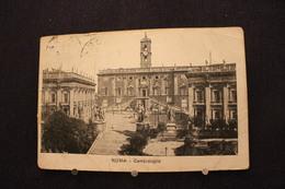 E-94 /  Italie  Lazio  Roma (Rome)  Places & Squares,  Campidoglio / Circulé  1921 - Places & Squares