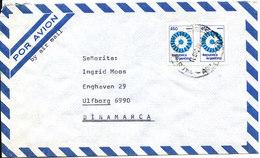 Argentina Air Mail Cover Sent To Denmark 10-12-1980 - Poste Aérienne