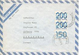 Argentina Air Mail Cover Sent To Denmark 7-12-1979 - Poste Aérienne