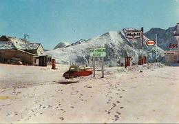 Valls Andorra Andorre Port Envalira . Timbrée 1963 Vers Les Rousseaux St Martin Auxigny. Sation Mobil Esso - Andorra