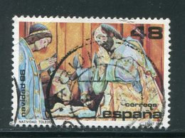 ESPAGNE- Y&T N°2486- Oblitéré (Nöel) - 1981-90 Usados