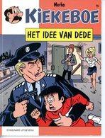 Kiekeboe 75 - Het Idee Van Dede (1ste Druk) 1998 - Kiekeboe
