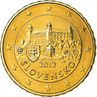 Slovaquie, 10 Euro Cent, 2012, BU, FDC, Laiton, KM:98 - Slovaquie