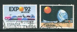 ESPAGNE- Y&T N°2543 Et 2544- Oblitérés - 1981-90 Usados