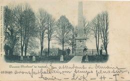 Turenne Denkmal Bei Sassbach.  Pioneer Card 1898  Edit Liebhardt Esslingen . Crease Right Side - Sasbach