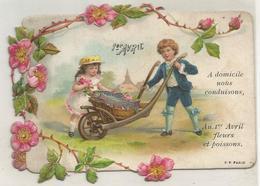 Carte Enfant 1 Er Avril - Bébés