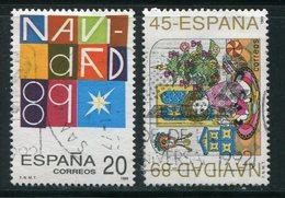 ESPAGNE- Y&T N°2651 Et 2652- Oblitérés - 1981-90 Usados