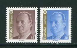 ESPAGNE- Y&T N°2927 Et 2928- Oblitérés - 1931-Oggi: 2. Rep. - ... Juan Carlos I