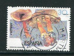 ESPAGNE- Y&T N°2933- Oblitéré (champignons) - 1931-Oggi: 2. Rep. - ... Juan Carlos I