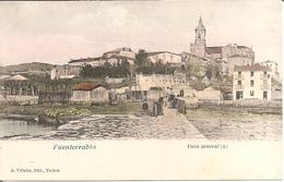 FUENTERRABIA (Pais Vasco) Vista General (2) (Carte Précurseur Dos Non Divisé) - Guipúzcoa (San Sebastián)