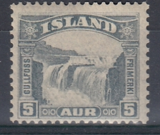 +M306. Iceland 1931. Gullfoss. Michel 150. MH(*) - Nuovi