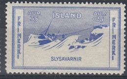 +M309. Iceland 1933. Charity. Michel 170. MH(*) - Nuovi