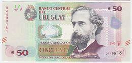 Uruguay P 94 - 50 Pesos 2015 - UNC - Uruguay