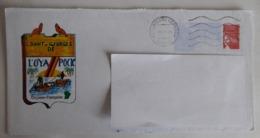 Pap Luquet Cachet à Date Cayenne Illustré écusson De L'Oyapock - Entiers Postaux