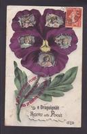 R1478 - De DRAGUIGNAN Recevez Cette Pensée - Var - Draguignan