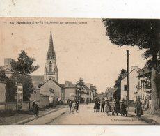Mordelles -   L' Arrivée    Par  Le  Route  De  Rennes. - Autres Communes