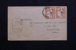 KENYA / OUGANDA / TANGANYIKA - Enveloppe Commerciale Pour Bombay En 1945 Avec Cachet De Censure - L 60798 - Kenya, Uganda & Tanganyika