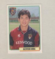 KAZUYOSHI MIURA...GIAPPONE..GENOA....CALCIO...MUNDIAL...SOCCER...WORLD CUP....FIFA....FOOTBALL - Trading-Karten