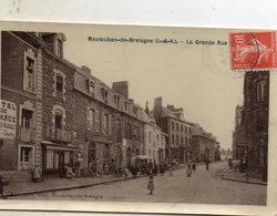 Mautauban  De  Bretagne -   La  Grande  Rue. - Autres Communes