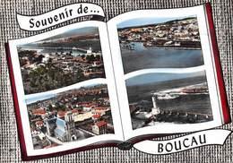 Souvenir De ... BOUCAU - La Barre De L'Adour - Le Pont - L'Eglise - Le Phare - Livre Ouvert - Boucau