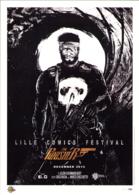 HUGONNARD BERT : Exlibris De Salon COMIX LILLE 2014 ( Punisher ) - Illustrateurs G - I