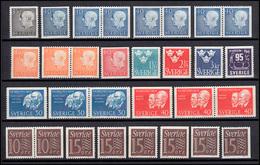 515-530 Schweden-Jahrgang 1964 Komplett, Postfrisch ** - Suède