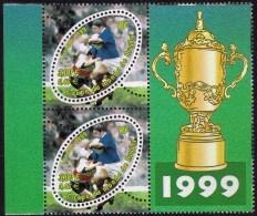 France Rugby Varieté Sans 'F' Dans 'ITVF' Tenant Au Normal - Errors & Oddities