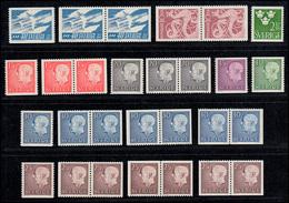 467-484 Schweden-Jahrgang 1961 Komplett, Postfrisch ** - Suède