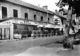 BOUCAU - Hôtel De La Terrasse, Chez Carrère - Bar-Restaurant-Dancing - Photo L. Baron - Tirage D'éditeur N&B Non Dentelé - Boucau