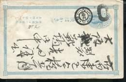 JAPAN VINTAGE POSTAL STATIONARY CARD - Cartas