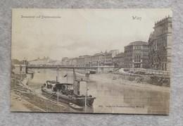 Cartolina Postale Wien - Donaukanal Und Stephaniebrücke, Per Venezia 1900 - Vienna