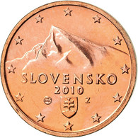 Slovaquie, 2 Euro Cent, 2010, BU, FDC, Copper Plated Steel, KM:96 - Slovaquie