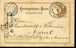 AUSTRIA BOHEMIA KUTNA HORA KUTTENBERG 1897 VINTAGE PS CARD - Boemia E Moravia