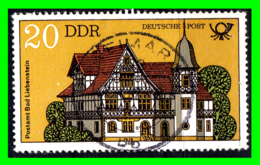 GERMANY( D.D.R..) GERMANY DEUTSCHE DEMOKRATISCHE REPUBLIK SELLOS AÑO 1982 EDIFICIOS POSTALES - Used Stamps