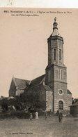 Montautour -   L' église  De  Notre  Dame  Du  Roc -   Lieu  De  Pélerinage  Célèbre. - Autres Communes