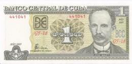 CUBA - 1 Peso 2005 - UNC - Kuba