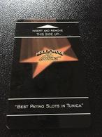 Hotelkarte Room Key Keycard Clef De Hotel Tarjeta Hotel  HOLLYWOOD CASINO  TUNICA - Télécartes
