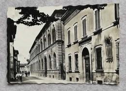 Cartolina Illustrata Imola - Via Cavour - Scuole Carducci - Imola