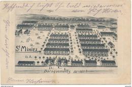 55) Saint-Mihiel : Baraquement Du 161e - La Carte A Voyagé Felpost Le 25.10.1914 - 1.WK - Illustration - Saint Mihiel