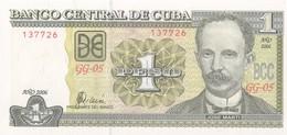 CUBA - 1 Peso 2006 - UNC - Cuba