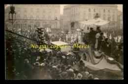 54 - NANCY - CAVALCADE DE LA MI-CAREME 1922 - CHAR DE LA SAMARITAINE - CARTE PHOTO ORIGINALE - Nancy