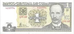 CUBA - 1 Peso 2007 - UNC - Kuba
