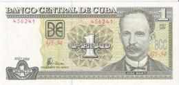 CUBA - 1 Peso 2008 - UNC - Kuba