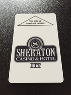 Hotelkarte Room Key Keycard Clef De Hotel Tarjeta Hotel  SHERATON CASINO  TUNICA - Télécartes