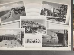 PESARO,VEDUTE CARIE-VOAGGIATA-1955-FG-MT.4665 - Pesaro